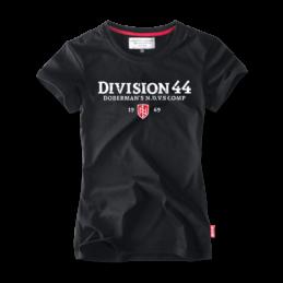 koszulka-damska-t-shirt-division44-tarcza-haft-TSD143A