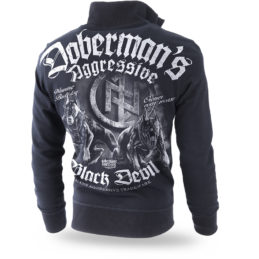 zip-sweatshirt-dobermans-aggressive-black-devil-dog-BCZ198A-BACK